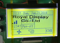 Royal Display Graphic COG Lcd Module 180x100 Dots With UC1698 Driver